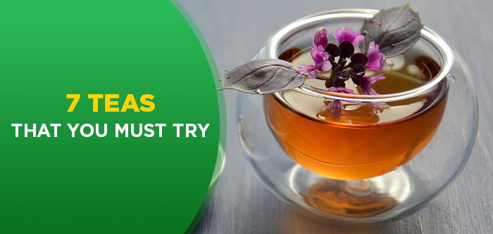 7 Herbal Teas & Their Health Benefits