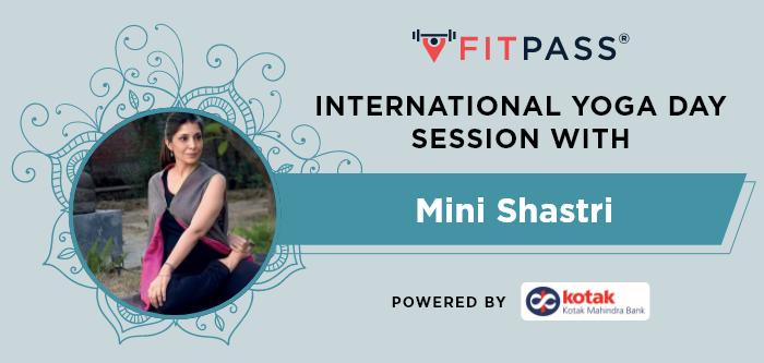 International Yoga Day Session With Mini Shastri Powered By Kotak Mahindra Bank