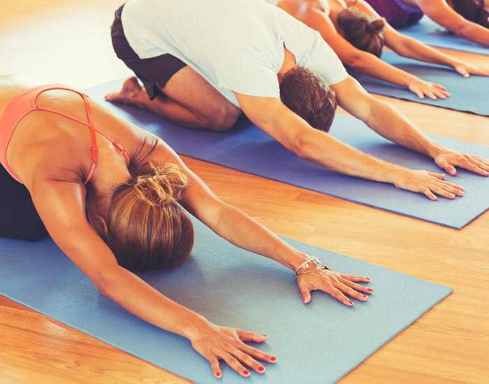 Try Yoga To Meet Monday Blues