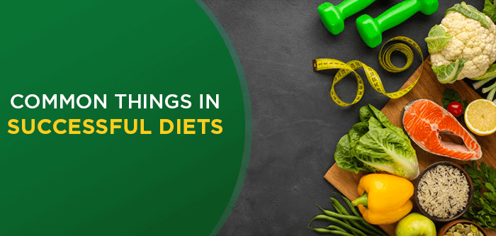 5 Things Successful Diets Have In Common