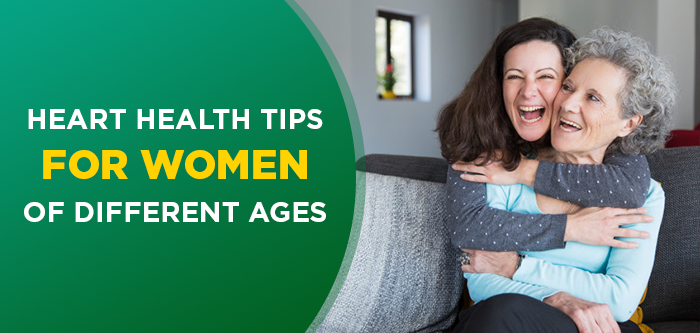 What Women Of Different Age Group Must Know About Heart Health