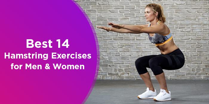 Best 14 Hamstring Exercises For Men And Women