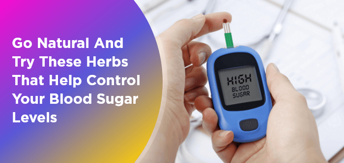 Go Natural and Try These Herbs That Help Control Your Blood Sugar Levels