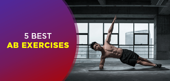 5 Simple and Effective Abs Exercises   Core Workout