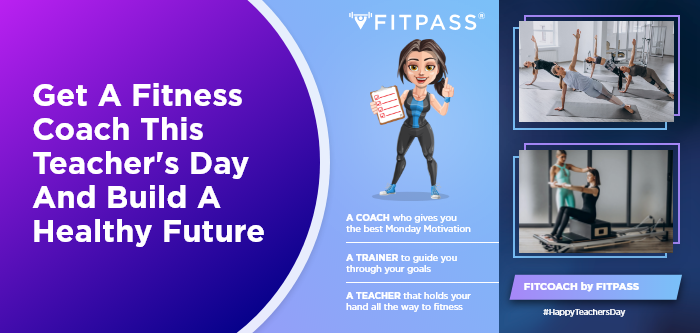 Get A Fitness Coach This Teacher's Day And Build A Healthy Future