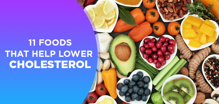 11 Foods That Help Lower Cholesterol