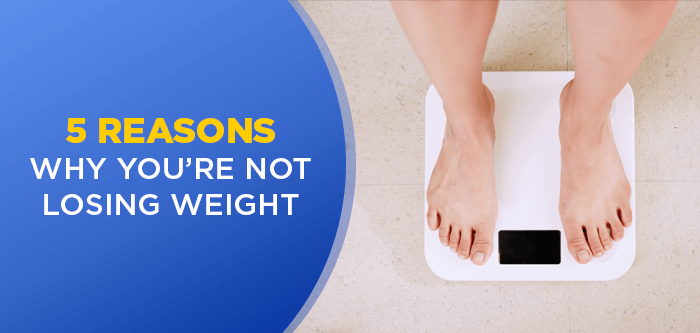 Why you might not be Losing Weight Anymore