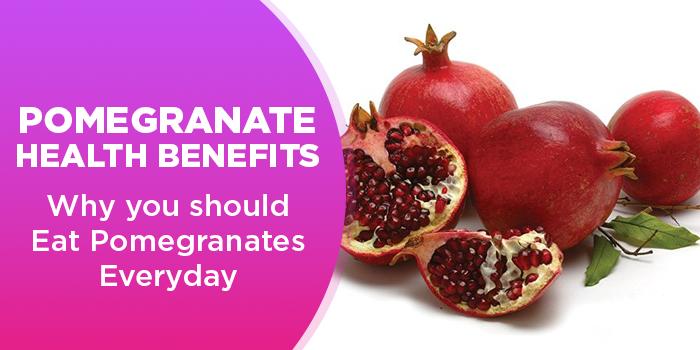 Pomegranate Health Benefits - Why You Should Eat Pomegranates Everyday