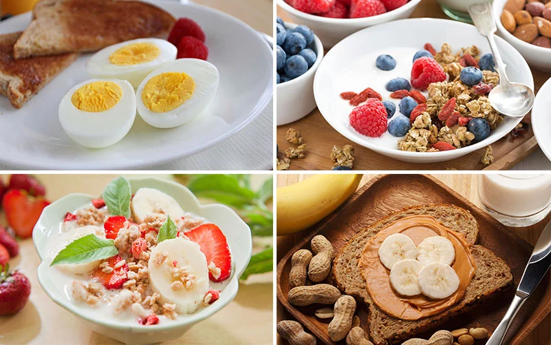 5 Best Pre Workout Foods - What To Eat Before Gym Workout
