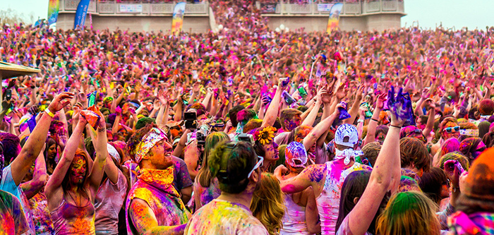 How to Stay Healthy during Holi