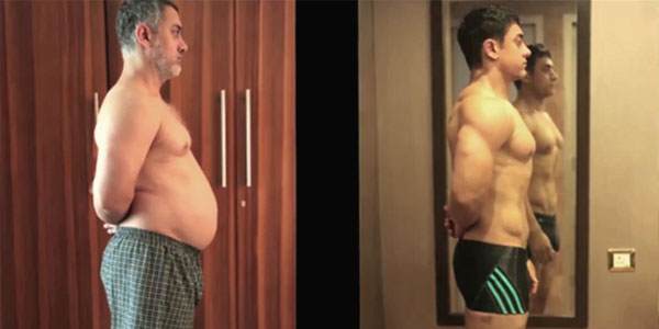Aamir Khan's Extreme Transformation