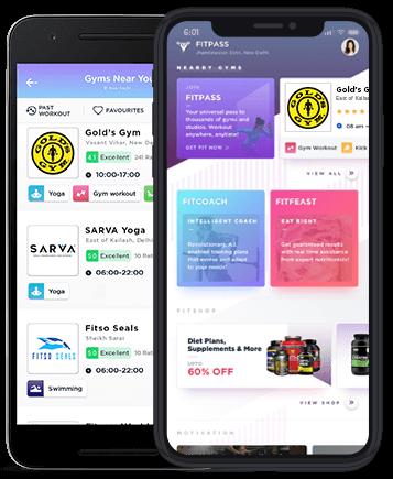 fitpass app screen