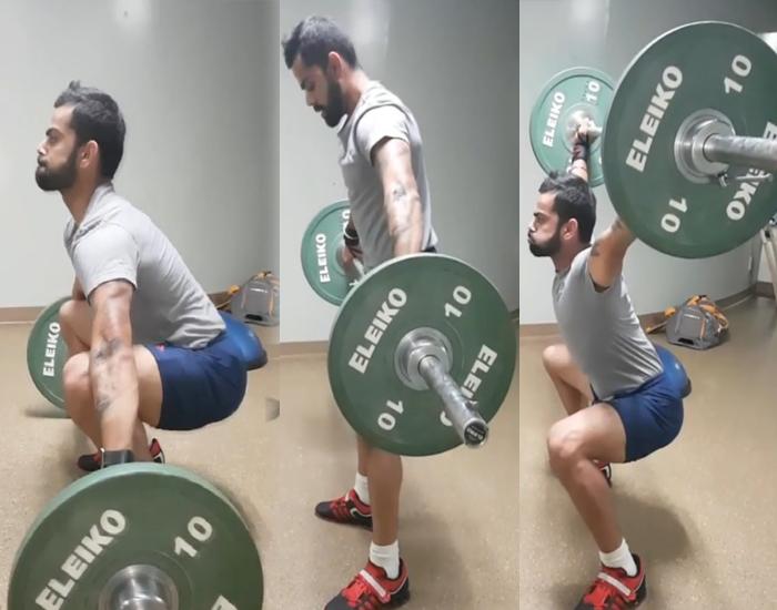 Kohli's Workout Routine