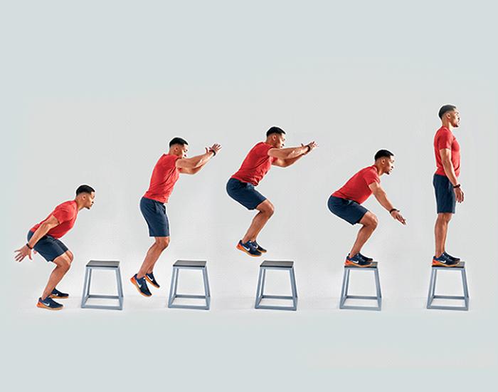 Box Jump - Best-Lower-Body-Workouts