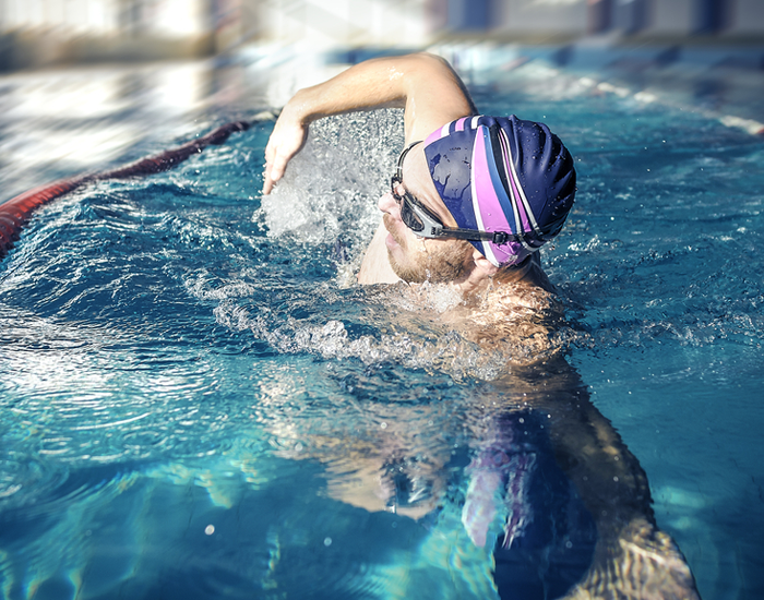 The Freestyle Swimming Stroke