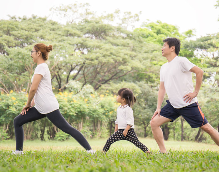 Guide your child towards fitness with fun