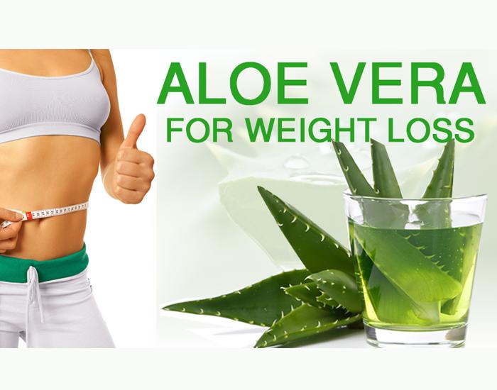 Aleo Vera - Helpful in reducing weight loss