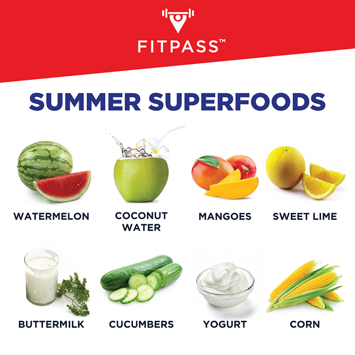 summer superfoods - FITPASS