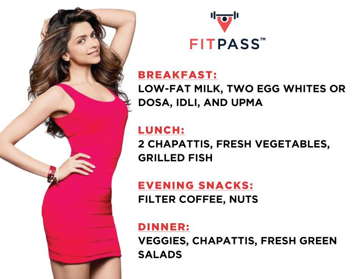 Deepika's food secrets