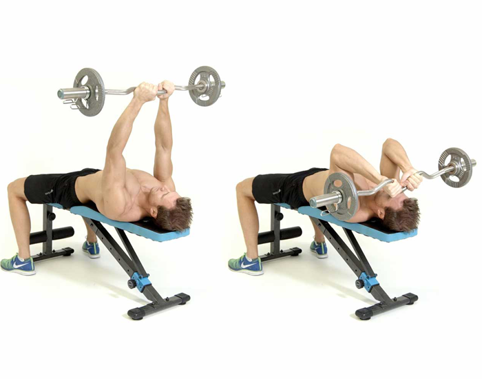 Bench Press (Close Grip)
