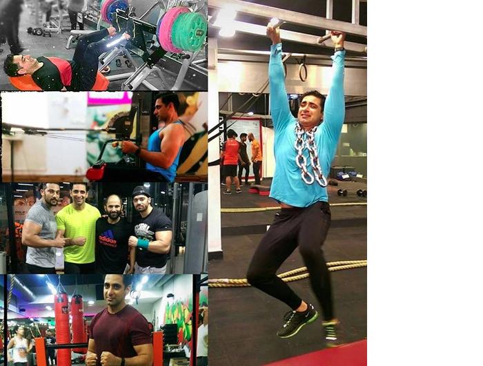 Akhil Sachar Gym Workout