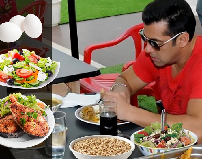 Salman workout diet