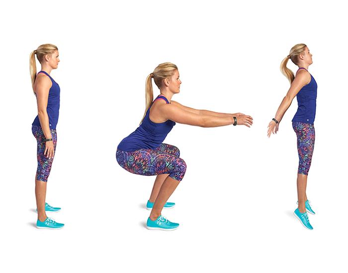 Squat jacks -Best-Lower-Body-Workouts