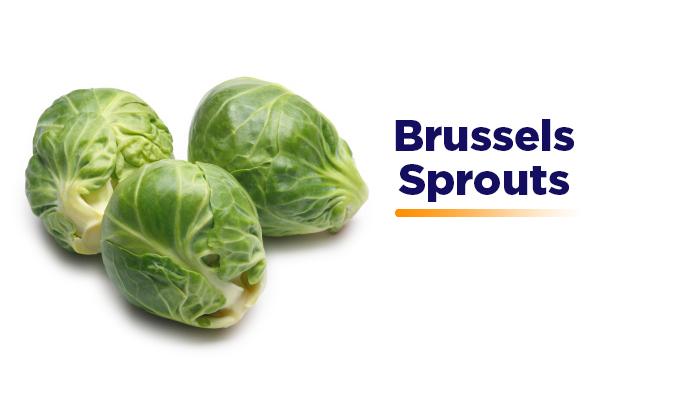 Brussels Sprouts - Gluten Free Diet