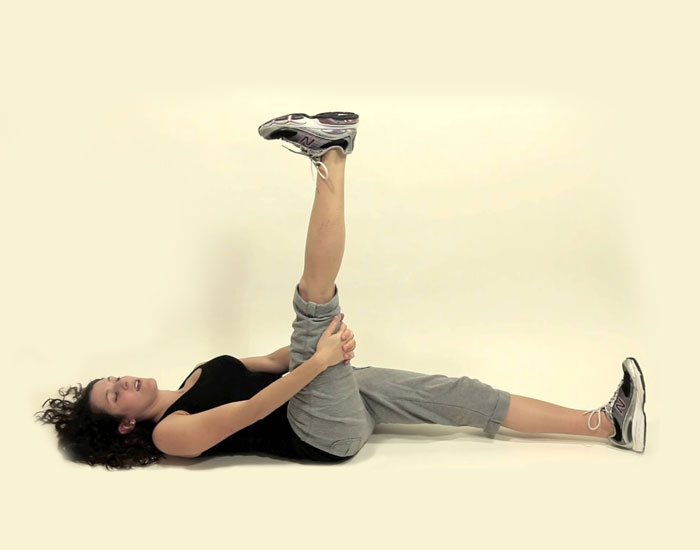 Supine-Hamstring-Stretch