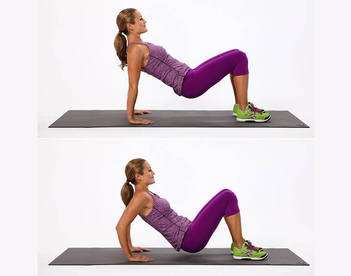 Triceps Dips-FITPASS