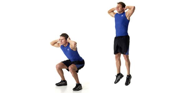 Tabata Jump Squats