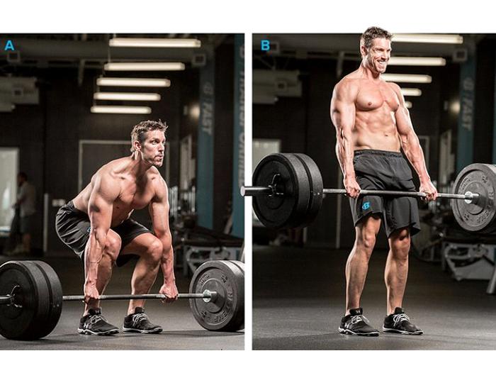 Deadlift for stronger lower back