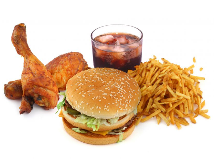 Oily and Junk Food
