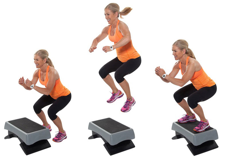 Jumping Squat - Burpees Workout