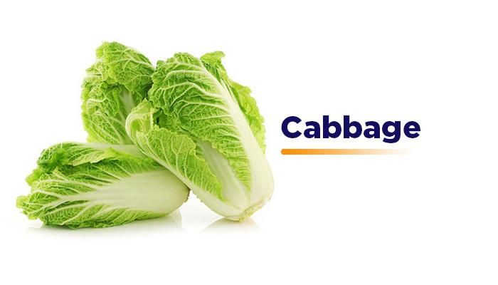 Cabbage - Gluten Free Diet