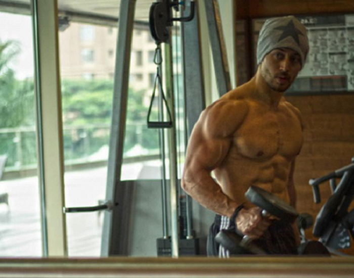 tiger shroff's gym workout