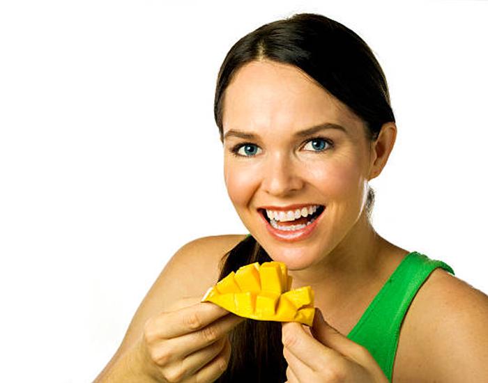 Mango as a meal