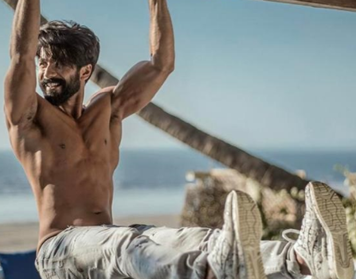 Shahid Kapoor Body Workout