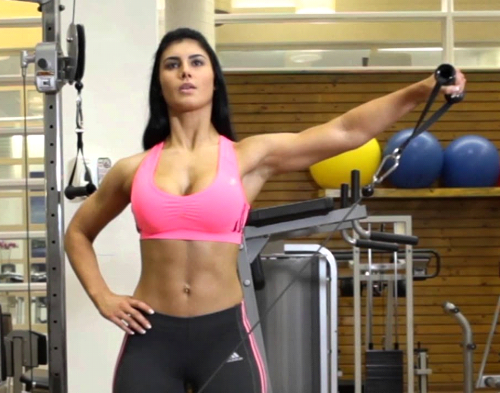 One-Arm Cable Lateral Raise