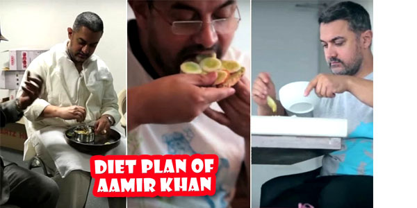 Diet Plan of Aamir Khan
