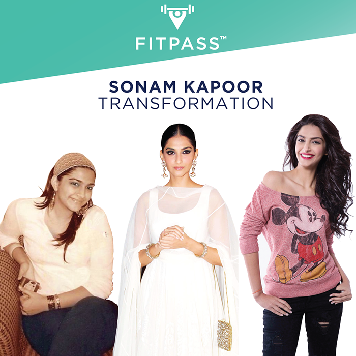 sonam kapoor's transformation