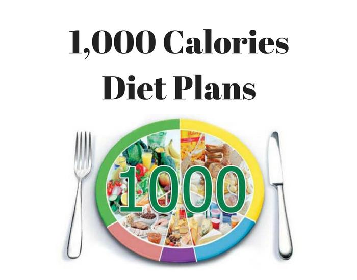 1000 calories diet plans