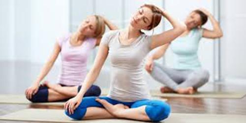 Slow stretching Yoga asanas for neck