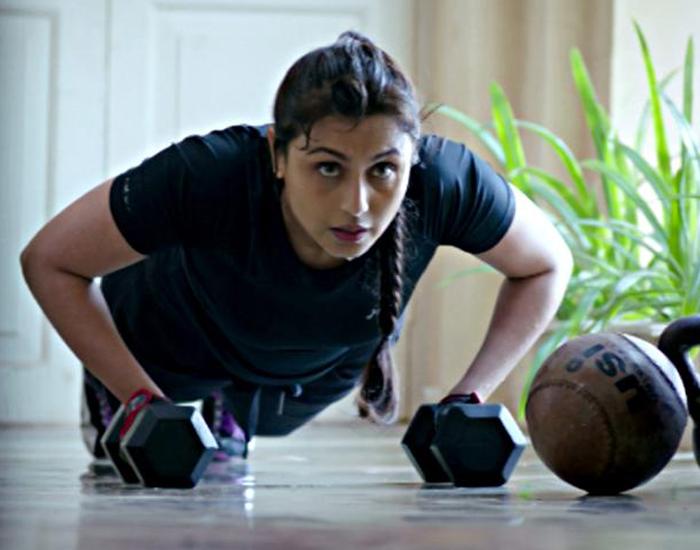 Workout Routine Of Rani Mukerji
