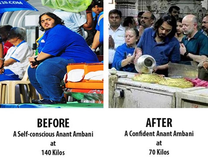 Anant Ambani  Before and After Transformation Lost 70 Kgs