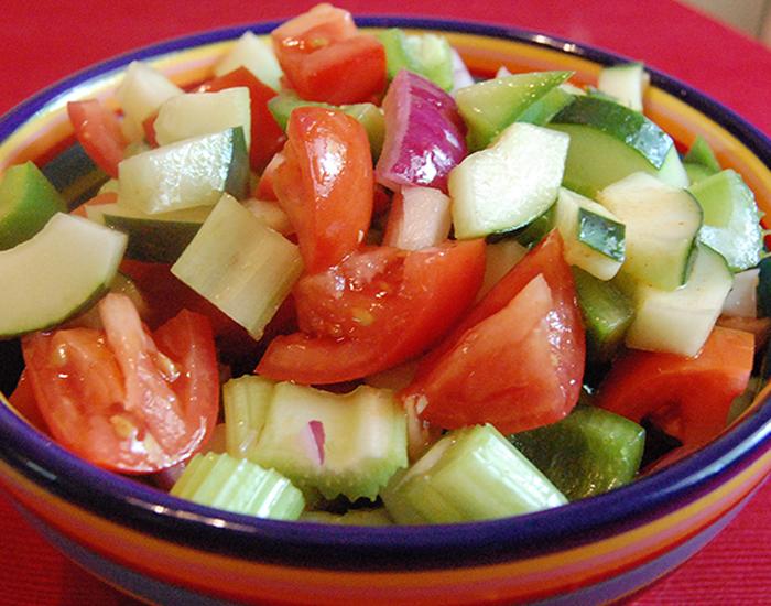 Eat Vegetable Salad at least once