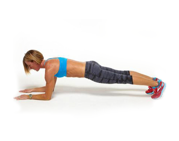Forearm Plank Low Crawl