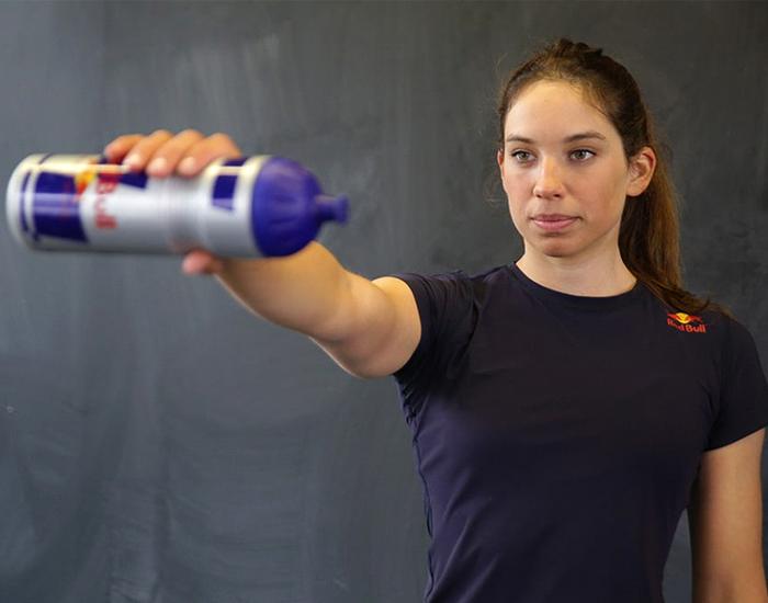 water stabilizer workout for shoulder