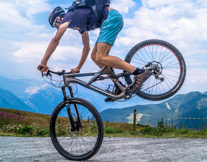 Cycling Builds Muscles and Reduces Tension