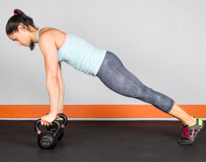 KettleBell Seated Press - Shoulder Workout